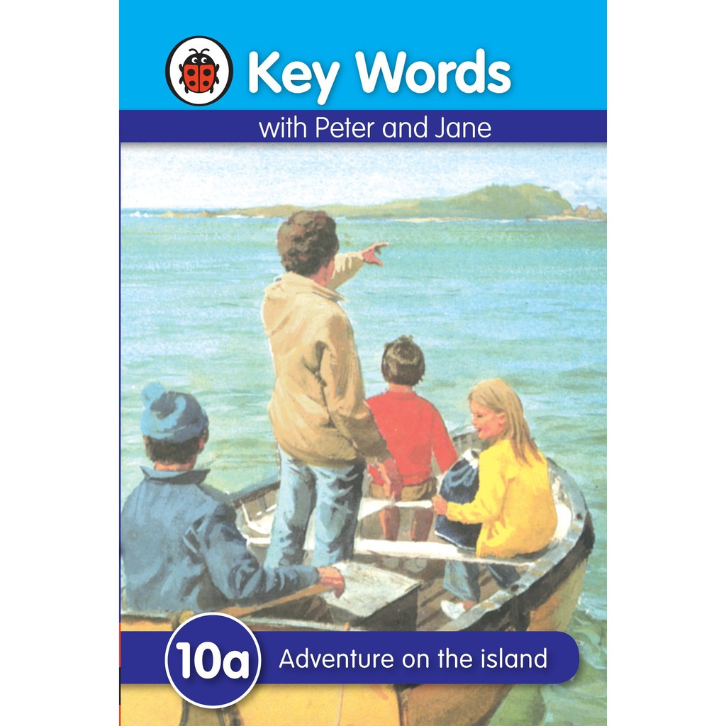 Key Words with Peter and Jane: 10a - Adventure on the Island ISBN :9781409301356