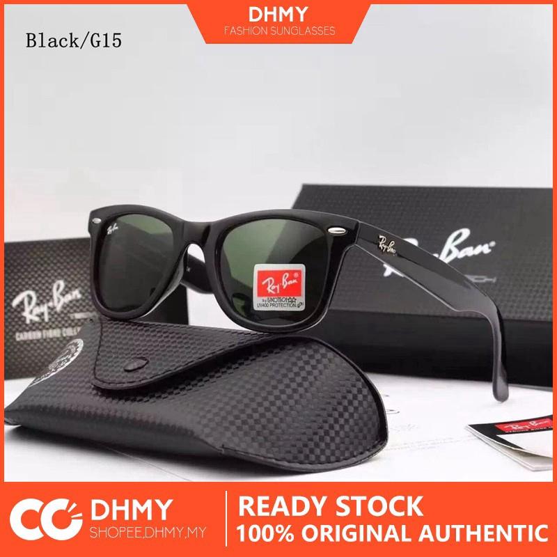 6583a3eb7ba65 Rayban 2140 901 58 52mm Wayfarer Polarized Sunglasses