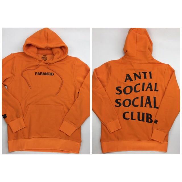 21ec57cbd4c Anti social social club ASSC x Undefeated hoodie sweater