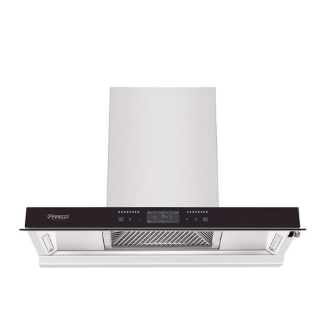 Firenzzi Italy 1490M3 Stainless Steel Designer Cooker Hood With Stainless Steel Oil Cup And Filter Fch-9268