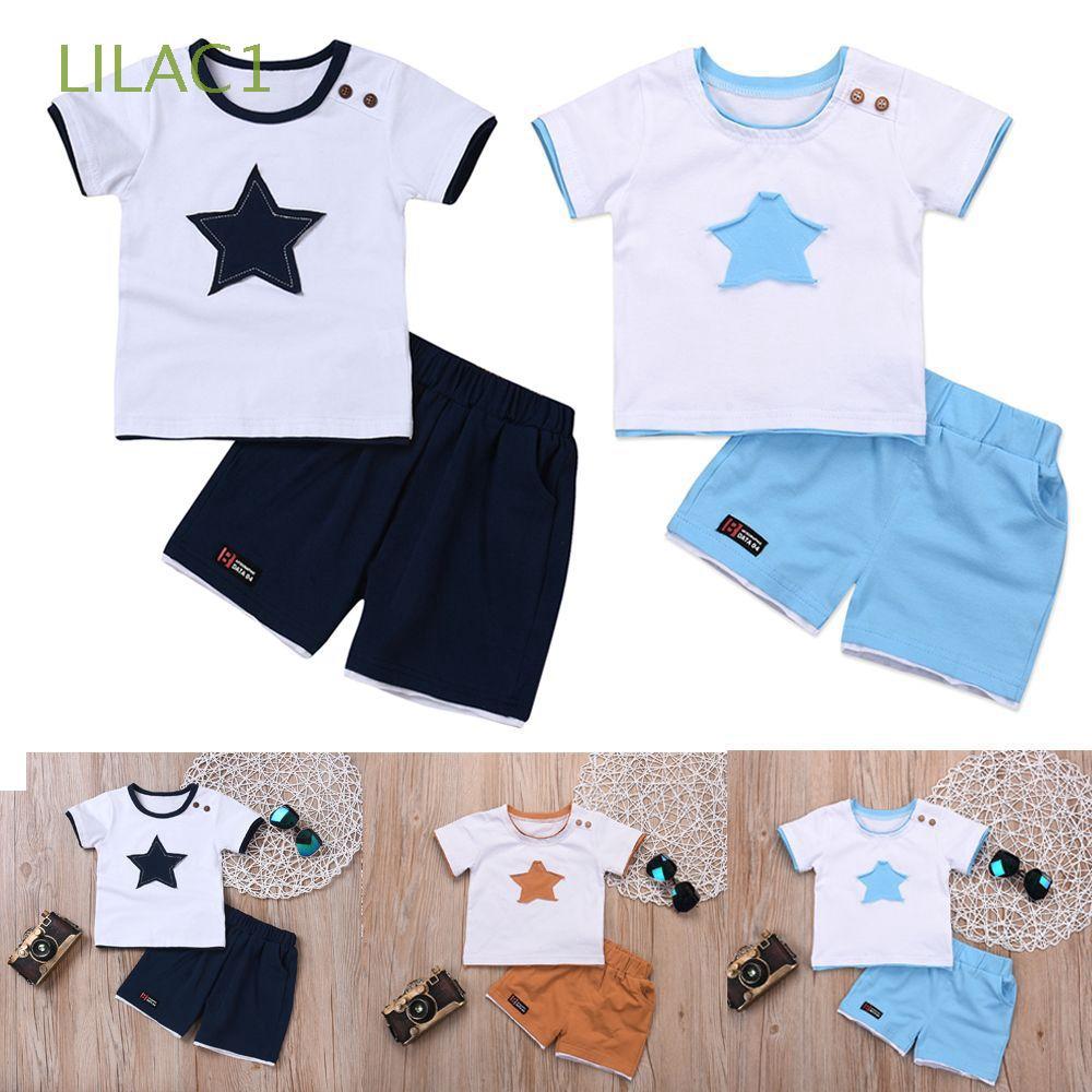 Shorts Outfits Set MOGOV 2Pcs Infant Baby Girl Summer Casual Off Shoulder Top T-Shirt Floral Printed