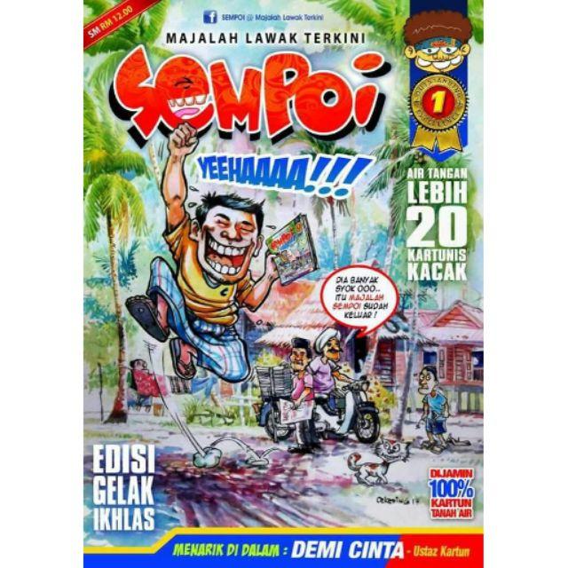 Majalah Lawak Terkini Sempoi