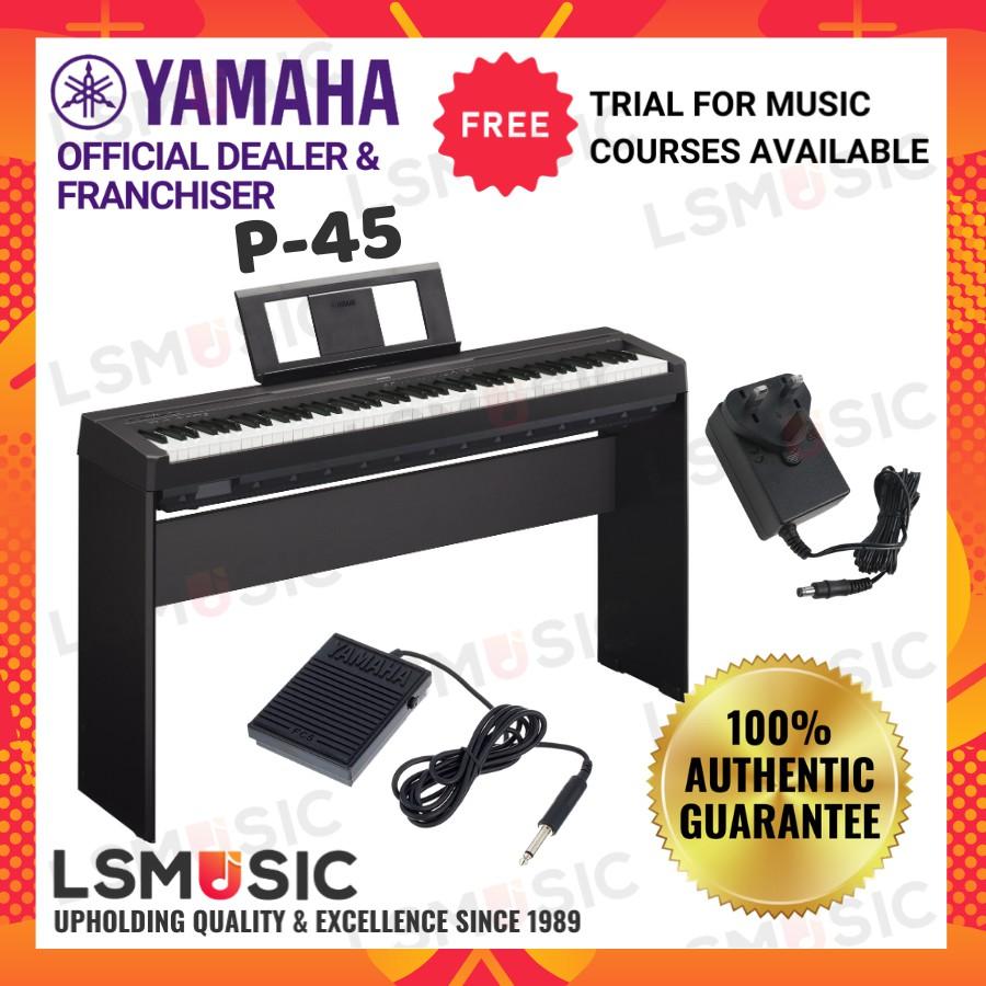 Yamaha P-45 Digital Piano 88 keys ( P45 / P 45 / P45B ) Yamaha Electronic Keyboard Piano Yamaha Elektronik Piano Murah