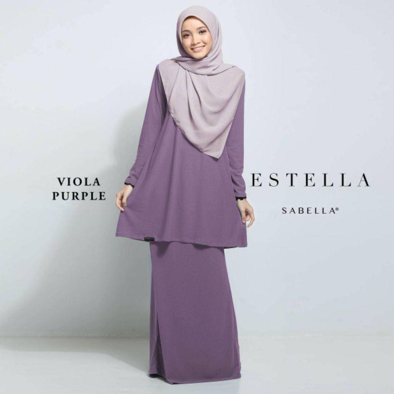 Sabella Estella Kurung Size  S [Ready Stock]