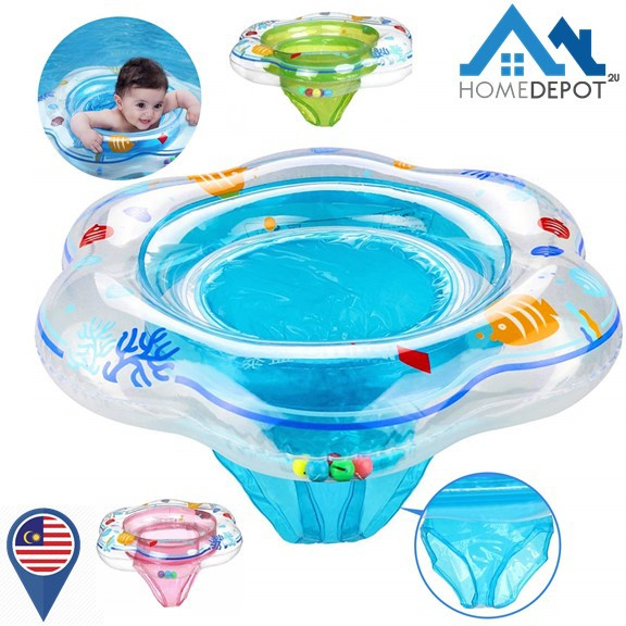 Baby Pool Float Swimming Ring Floats Safety Seat Double Airbag for Kids Toddler
