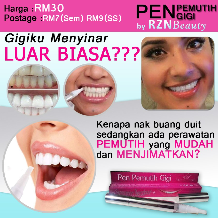 PEN PEMUTIH GIGI BY RZN BEAUTY  6dba463fef