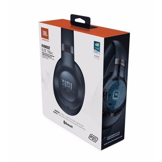 7d4ba9e1202 JBL Everest Elite 750NC Wireless Over-Ear Adaptive Noise Cancelling  Headphones