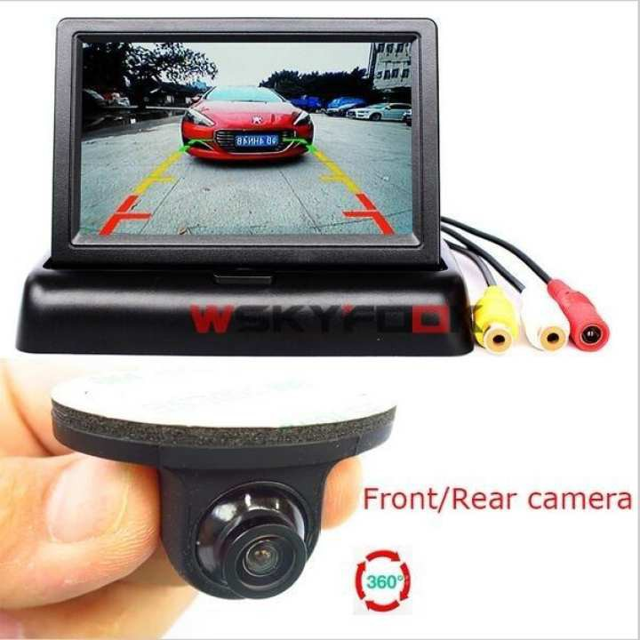 Exterior Systematic Universal Car Rear Forward Side View Parking Reverse Backup Camera Night Vision