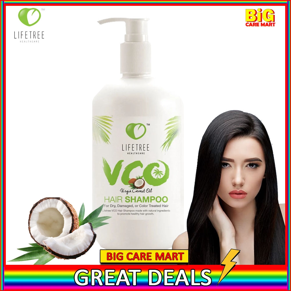 Lifetree VCO Virgin Coconut Oil Shampoo 350ml