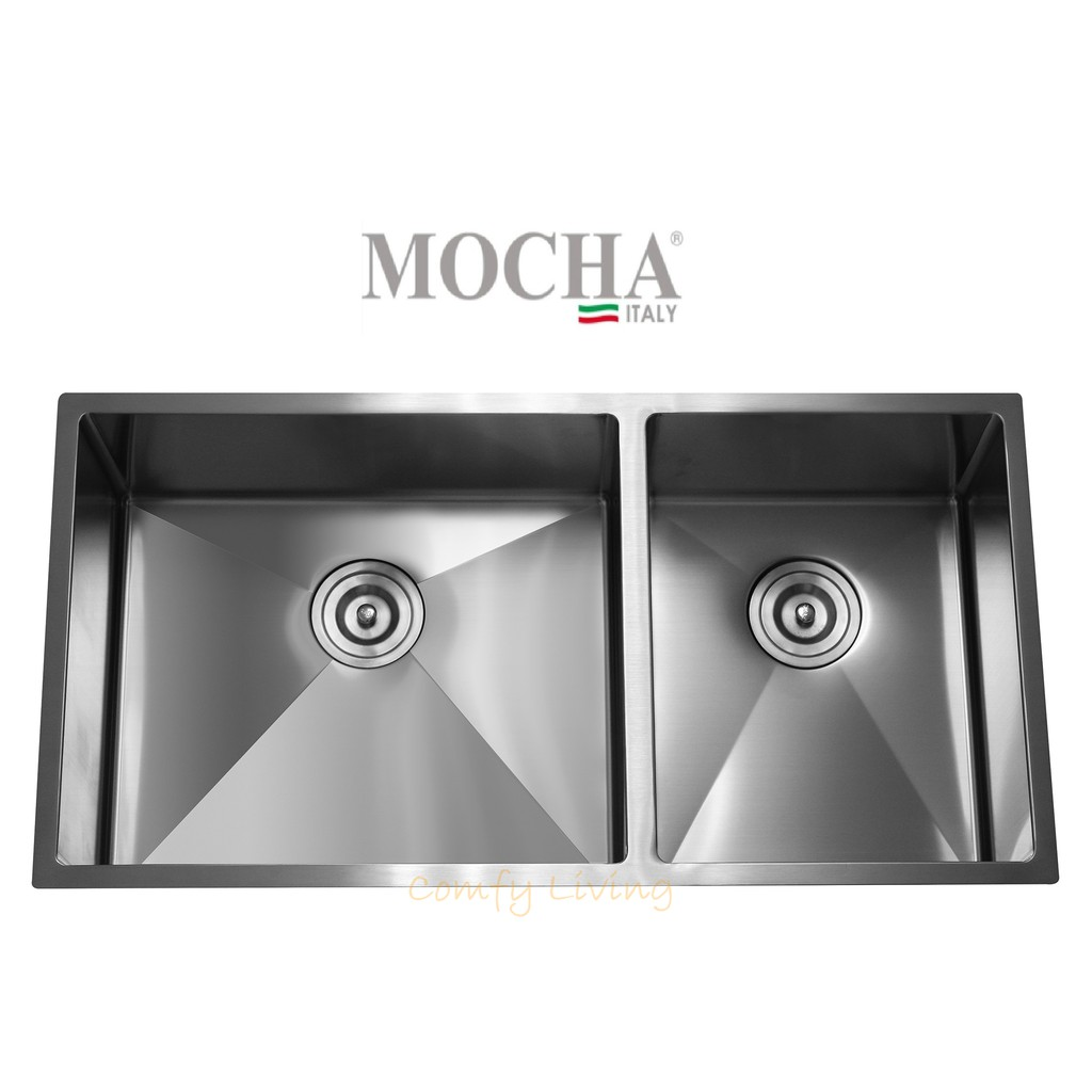 Mocha Mks8845 Hand Made Undermount Stainless Steel Kitchen Sink Free Gifts Sho Malaysia