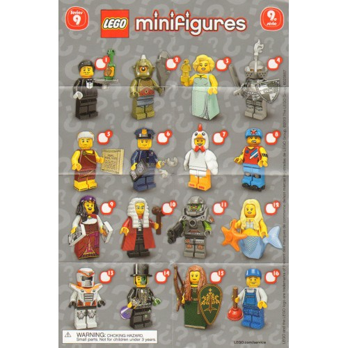 FOREST MADIEN 71000 MINIFIGURE CASTLE LADY FIGURE LEGO NEW SERIES 9 MR