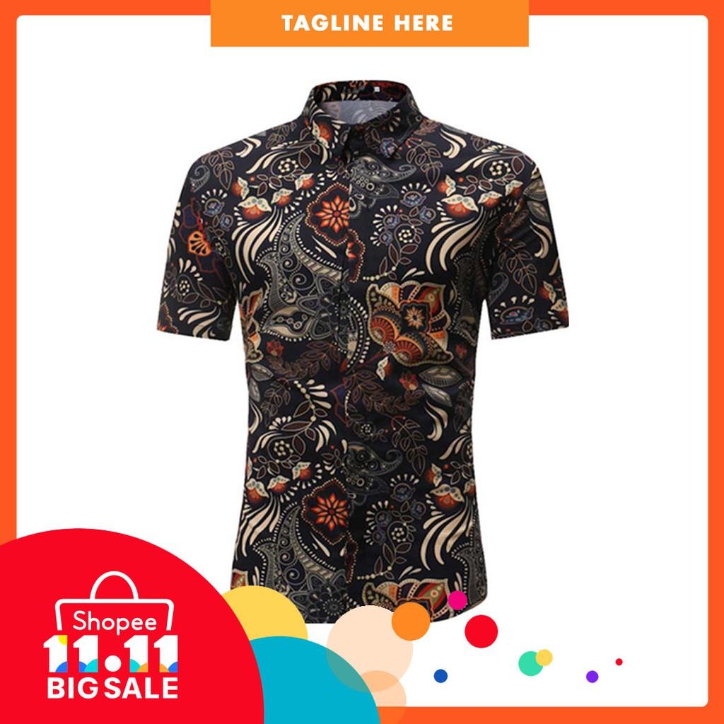 bcee3ade1 MENS HAWAIIAN SHIRT STAG BEACH HAWAII ALOHA PARTY SUMMER HOLIDAY FANCY TOPS  NEW | Shopee Malaysia