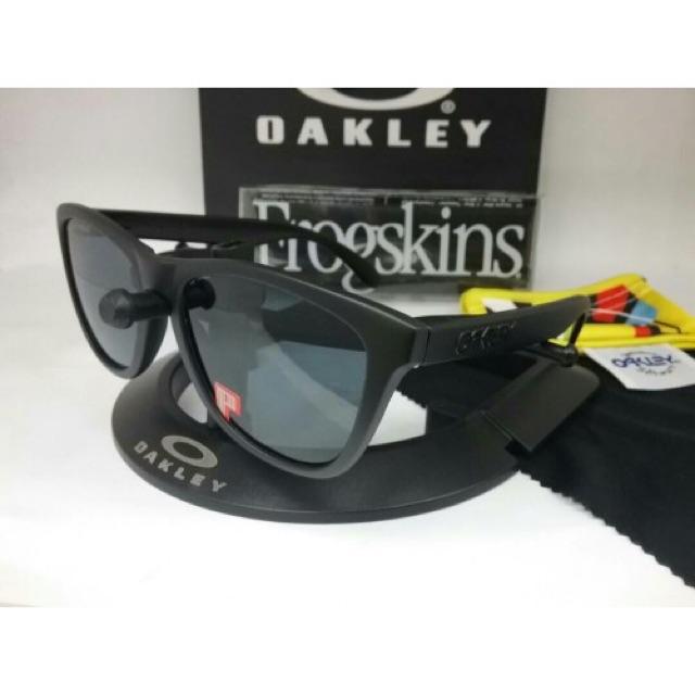 a226bbc44e NEW Oakley Frogskins sunglasses Matte Tortoise Prizm Tungsten 9013-C555  GENUINE