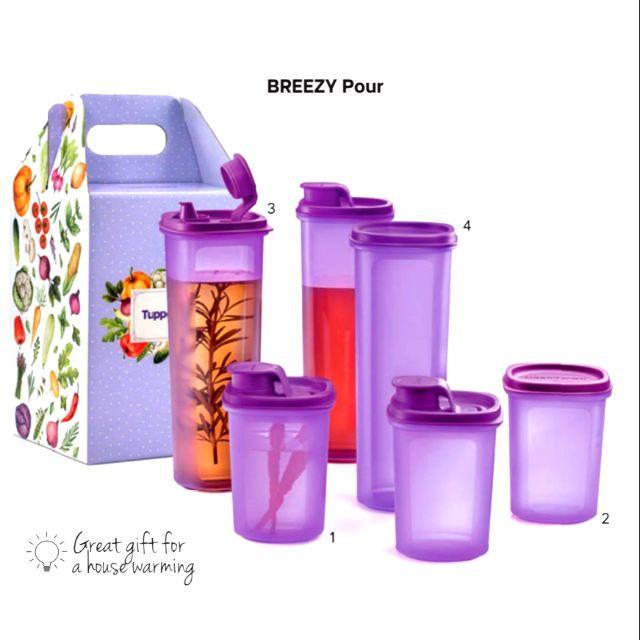 Breezy Pour Tupperware Set