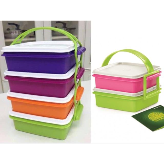 "Tupperware Small Goody Box / Raya Cake ""Selling Handle / Cariolier Only"""