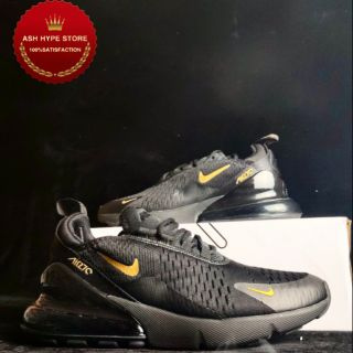 air max 270 black and gold