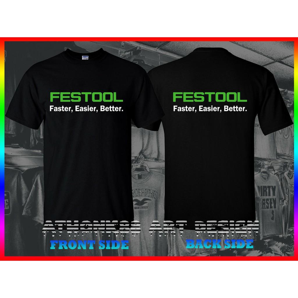Limited !! Neu Festool Logo T Shirt S-5XL