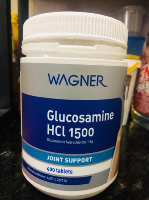 wagner glucosamine along with chondroitin ingredients
