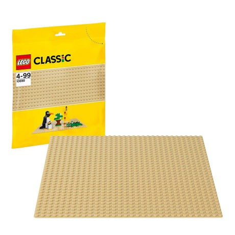 "Lego Brand New Tan Baseplate 32 x 32 Dot 10/""x10/"" Building Plate Free Shipping"