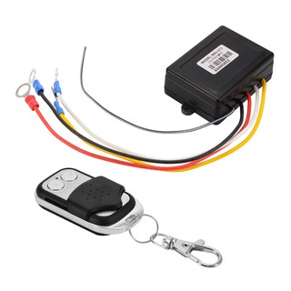 DC12V Car Electric Winch Wireless Remote Control Key Fob