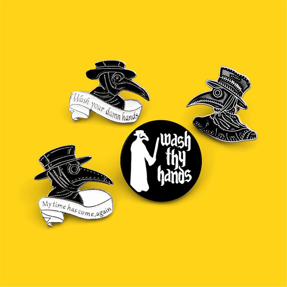 Clothes Lapel Pin Badge Dripping Oil Eggshell Dinosaur Enamel Pins Brooch