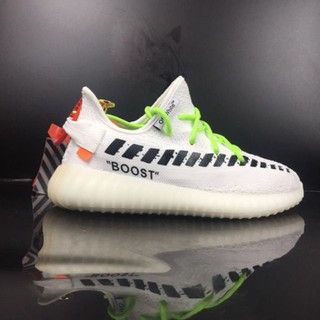outlet store 0372c bede3 100%original FreeShipping Off-White x adidas Yeezy Boost 350 ...
