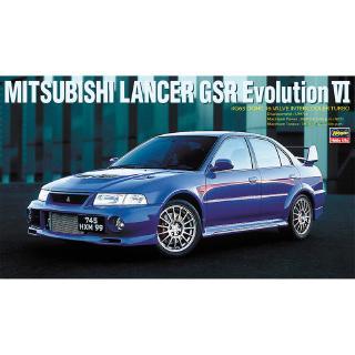 """Hasegawa 1//24 Mitsubishi Lancer GSR Evolution III /""""1995 Tour de Corse/"""" kit"""