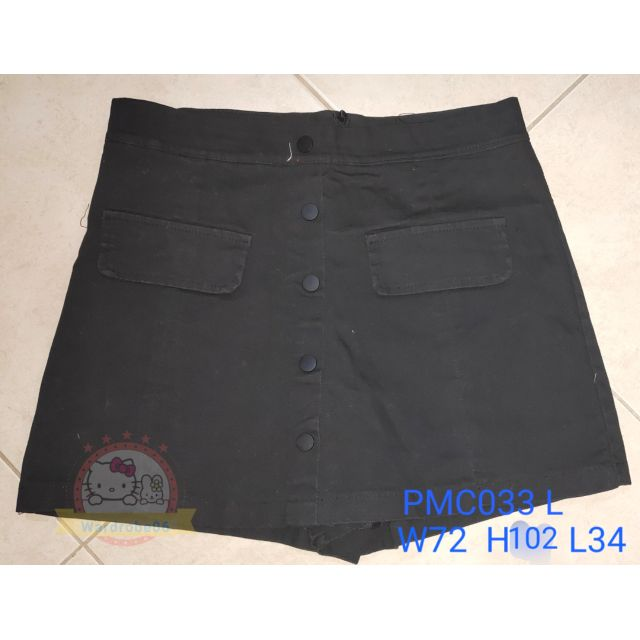💥💯🆕high waist skirt pant 👖👖black L 💥💯 👍 👕👕PMC033