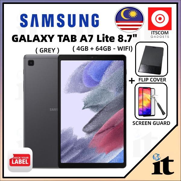 Samsung Galaxy Tab A7 Lite   4+64GB - 8.7Inch 2021 WIFI Tablet (SM-T220) - Original Samsung Malaysia - Ready Stock