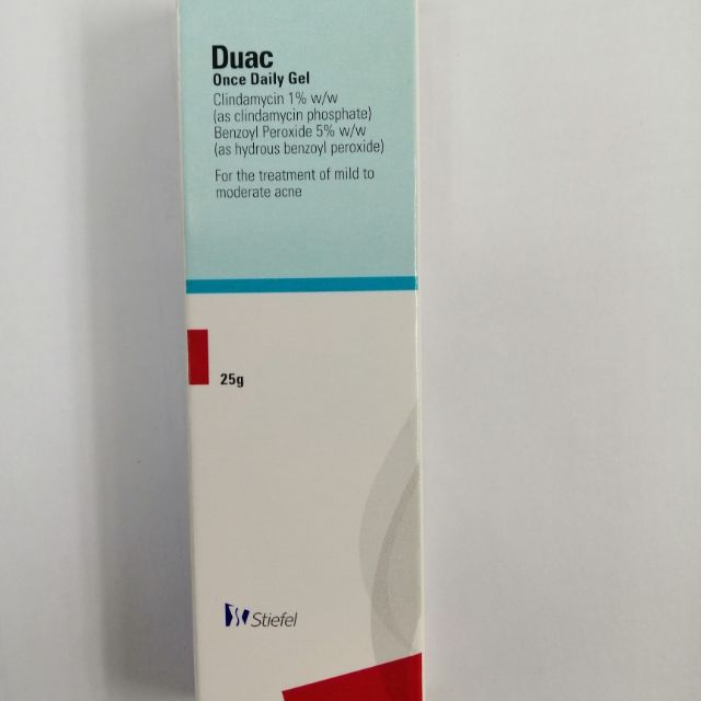 DUAC Gel 5% acne treatment 25gm jerawat