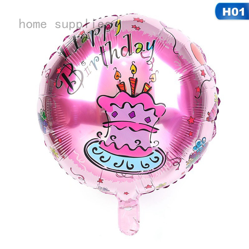 LARGE HAPPY BIRTHDAY SELF INFLATING BALLOONS BUNTING PARTY DECORATION UK BALOONS