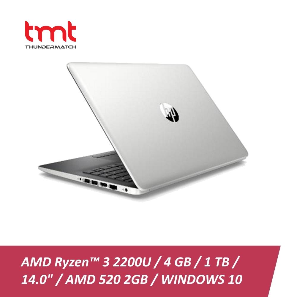 HP 14-cm0010AX | AMD Ryzen3-2200U | 4GB | 1TB |14 0