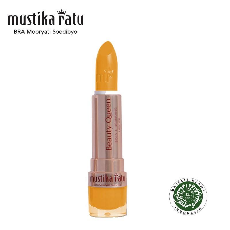 Mustika Ratu Beauty Queen Bold & Nourishing Lipstick - 04 Yellow (4g)