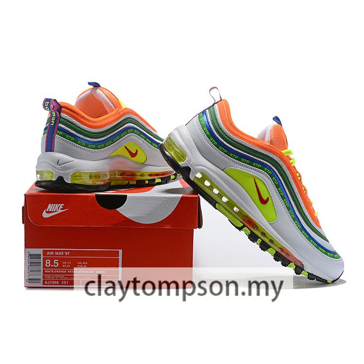 Nike Air Max 97 retro atmosphere pad bullets men and women running shoes men and