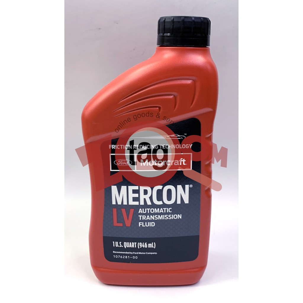 Motorcraft Mercon LV Automatic Transmission Fluid for FORD