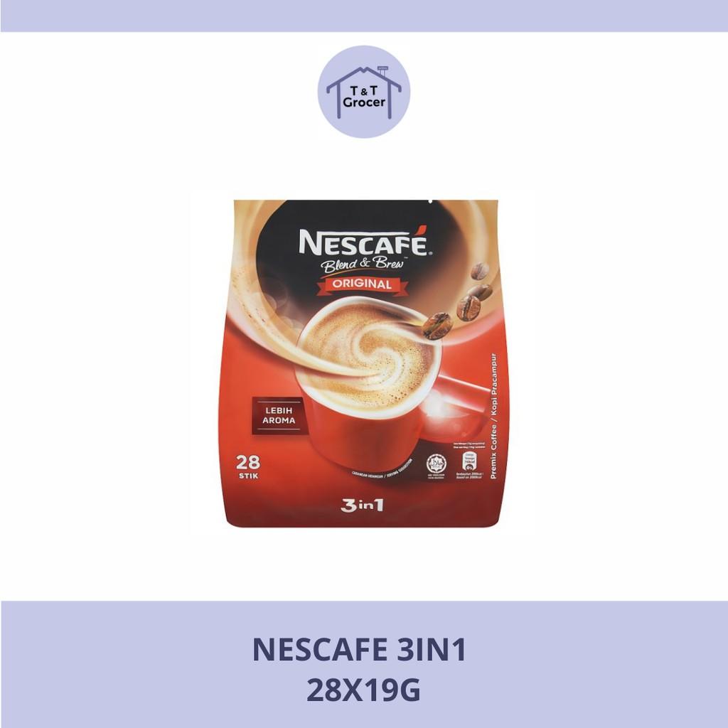Nescafe 3 in 1 28x19g