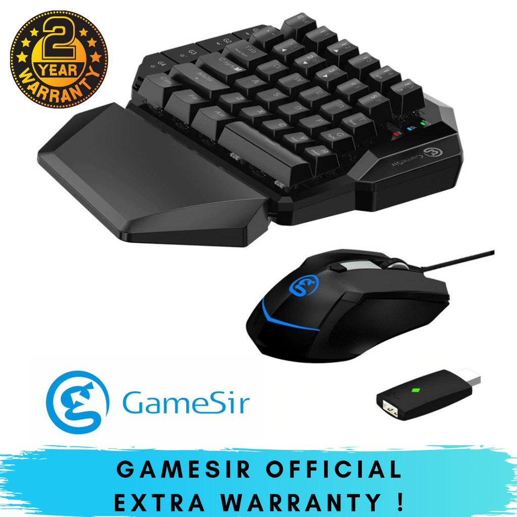 GameSir VX ( Keyboard + Mouse + Dongle ) FPS GAME NINTENDO SWITCH PC GAMING