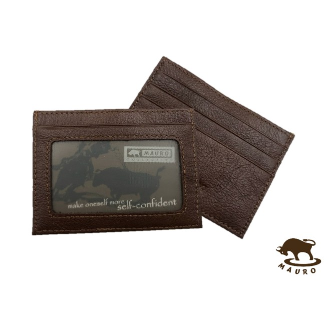 Mauro Multi Functional Genuine Leather Card Holder