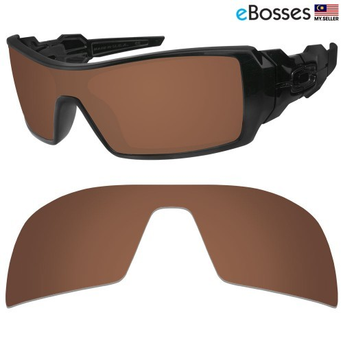 abe5d3e3e4 eBosses Polarized Replacement Lenses for Oakley RadarLock Path - Earth  Brown