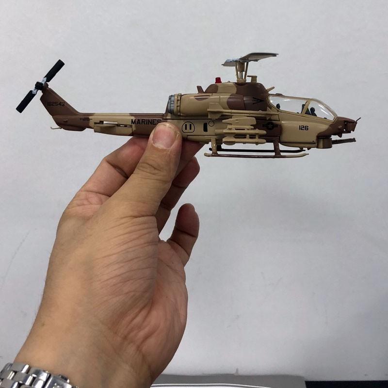 IXO 1/72 Scale USA AH-1W SuperCobra Helicopter Diecast Metal Plane ...