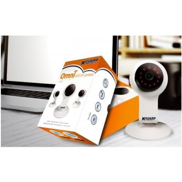 KGUARD Security QRT-502 Motion Technology HD Wireless Wi-Fi IP Camera