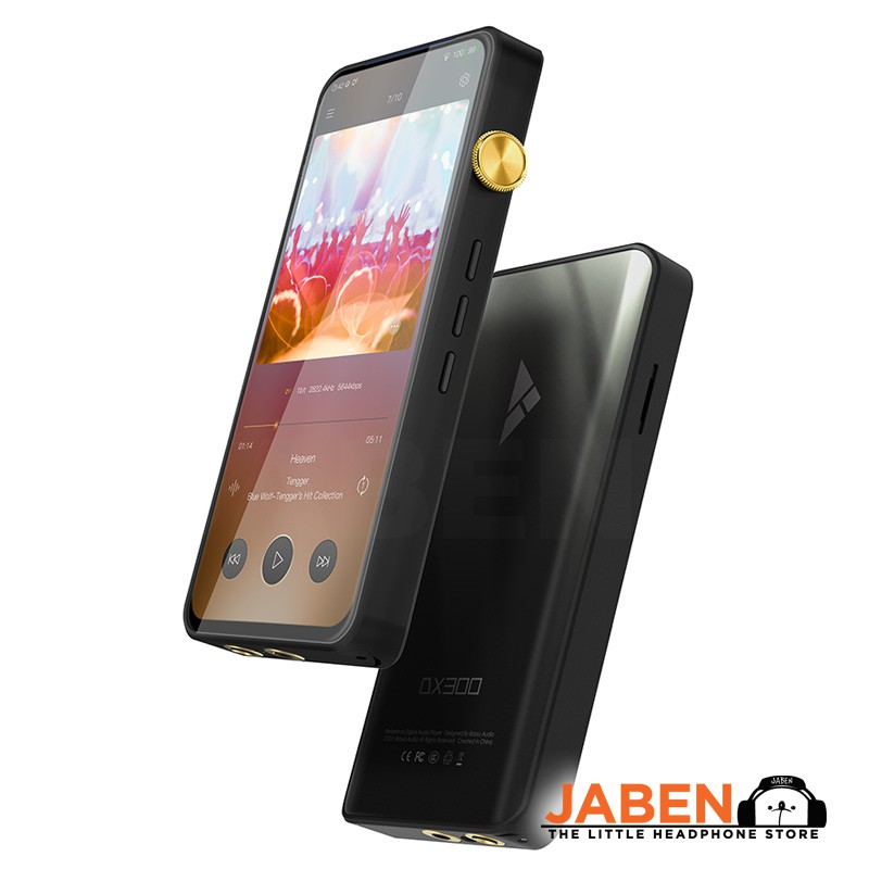 iBasso DX300 Flagship Android FGPA Dual Battery System Streaming WiFi Bluetooth Amp Card Digital Audio Player[Jaben]