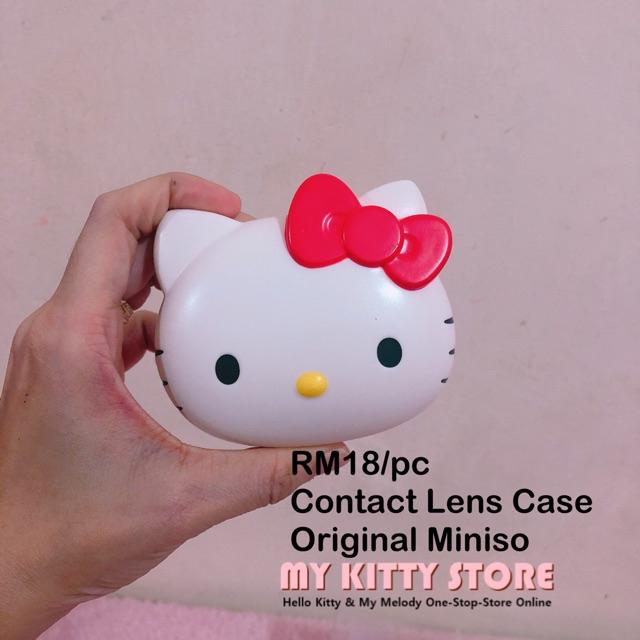 My melody Soft contact lens Case Sanrio cute Hello Kitty From Japan