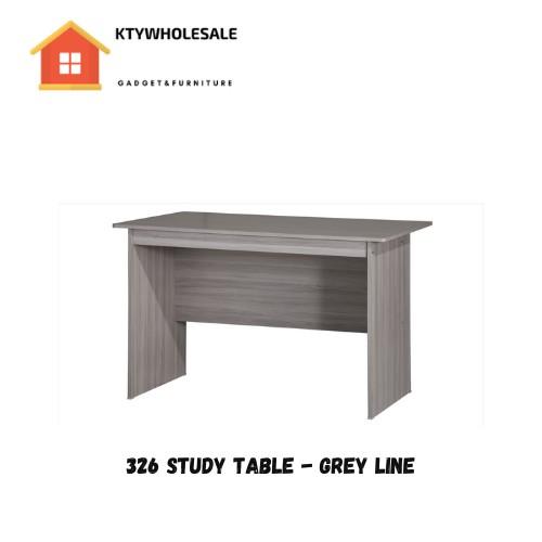 KTY 120cm Long Wooden Table (DIY) / Work Desk / Meja Belajar / 办公桌 / 学习桌 / 读书桌子 (SU 326)