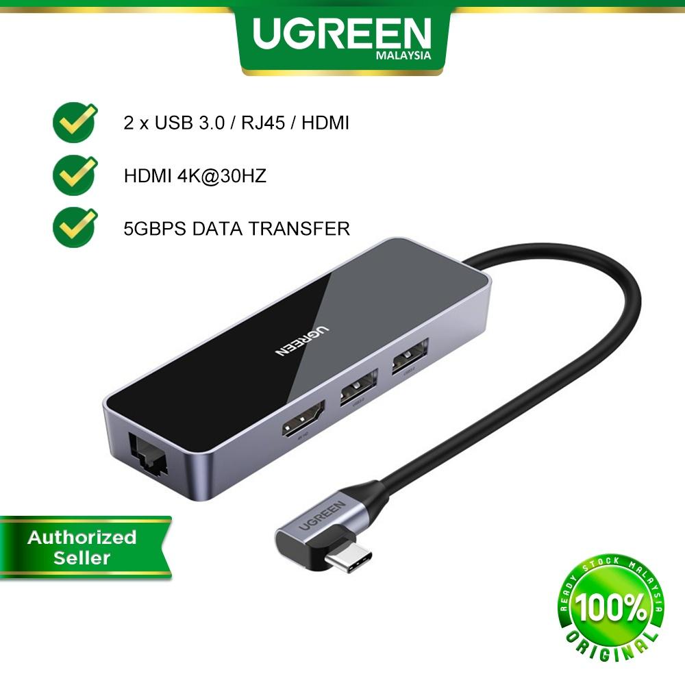 UGREEN 4 IN 1 USB C Hub USB 3.0 4K 30HZ HDMI Port Adapter Converter 4in1for Windows Mac OS Linux Macbook Laptop