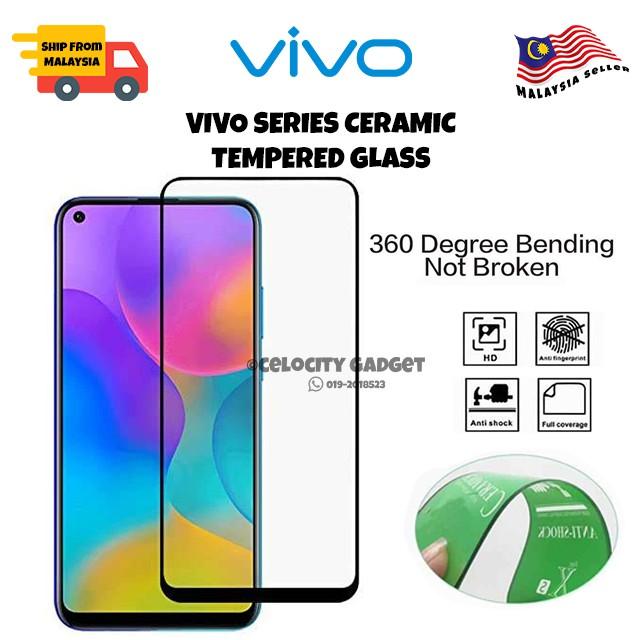 9D Ceramic Tempered Glass For Vivo Y11/Y12/Y15/Y17/V15/V15PRO/V11/V19/S1/S1PRO/Y91/91i/Y91c