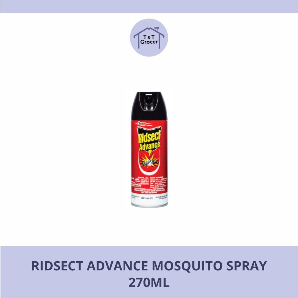 Ridsect Advance Mosquito Spray 270ml/ 600ml