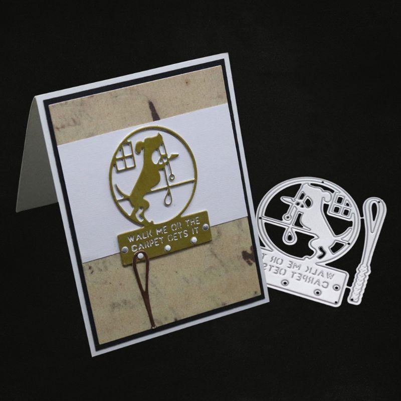 1set envelope metal cutting dies stencil scrapbook album paper embossing craf ME
