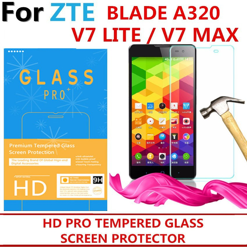 ZTE V7 LITE V7 MAX BLADE A320 TEMPERED GLASS SCREEN PROTECTOR