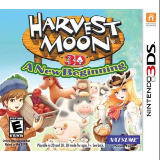 Harvest Moon A New Beginning Nintendo 3DS